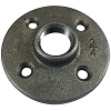 Black Pipe Flange 3/4